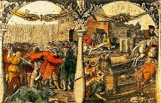 El Baño de sangre de Estocolmo.